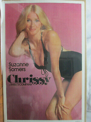 Suzanne Somers Chrissy In Three's Company Vintage Poster Cave Hot Girl Cng320
