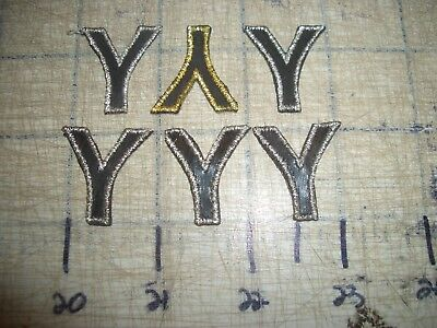"6) ""Y"" Alphabet Block Letters Iron On Patch Embroidery Applique EDC  NPC IFB"