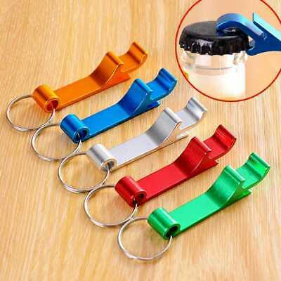 1Pc Bottle Opener Key Ring Chain Keyring Keychain Metal Beer Bar Tool Claw F8K8
