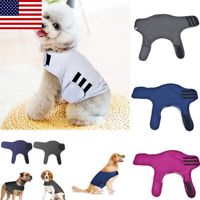 Pet Dog Anti Anxiety Outdoor Jacket Relief Stress Cotton Calm Down Vests Coat OC