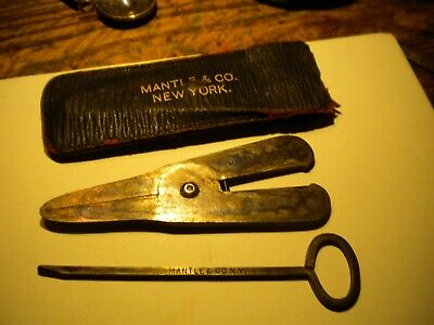 Scarce 1900S--Mantel And Co. Ny--Tobaco Pipe Cleaning Tools