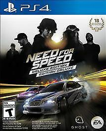 PlayStation 4 : Need for Speed - Deluxe Edition - PlaySt VideoGames