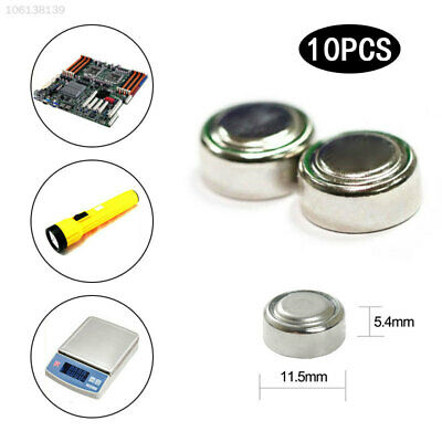 BB37 Alkaline AG13 15v Toy 10Pcs Battery LR44 Coin Cells Coin Battery Watch