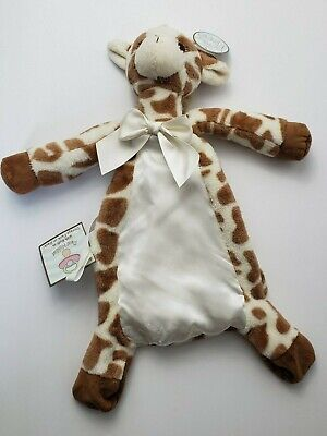 Giraffe Patches Pacifier Pets Bearington Baby Collection Soothie Lovey Plush