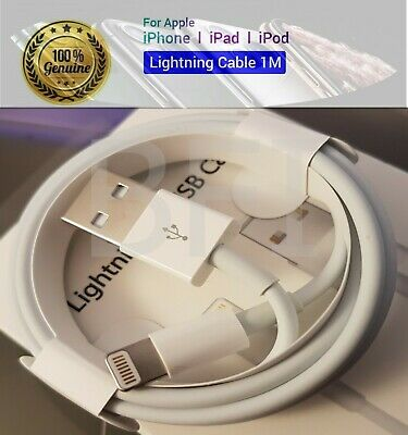 Genuine Apple Lightning USB Charger Lead Cable For iPhone 5 5S 6 6S 7 8 X XS MAX