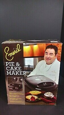 Nonstick Cake Pie Maker Emeril by T-Fal SM2205 Electric Black