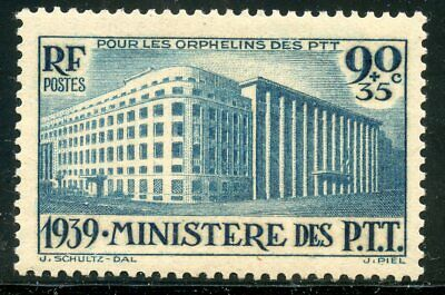 Stamp / Timbre France Neuf N° 424 * Minitere Des P.t.t.t  Cote + 22 €