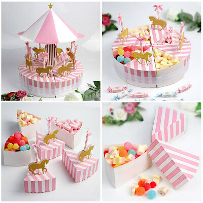 Unique Carousel Candy Box Kids Birthday Unique themed Birthday Wedding Gift Box