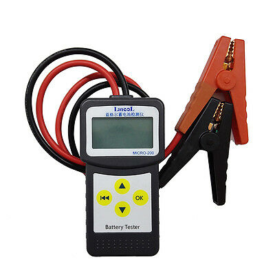 Car Battery Load Tester MICRO-200 Analyzer 30-200Ah Lead-acid, EFB,AGM,GEL 12V
