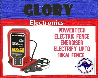 Powertech Electric Fence Energiser Electrify Upto 10Km Fence clearance sales