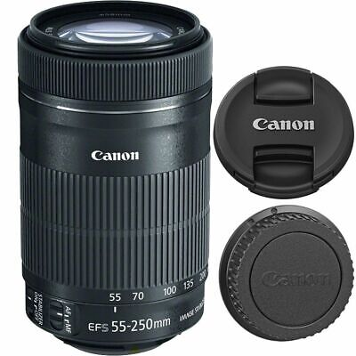 Brand New Canon EF-S 8546B005 55-250mm F/4-5.6 STM IS Lens