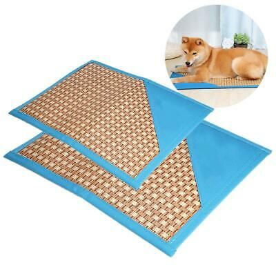 2 Size Pet Cooling Mat Pad Bed Summer Dog Cat Puppy Sleeping Breathable Cushion