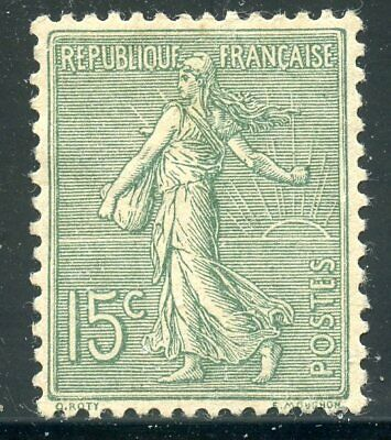 Stamp / Timbre De France Neuf Type Semeuse N° 130 * /  Photo Contractuelle