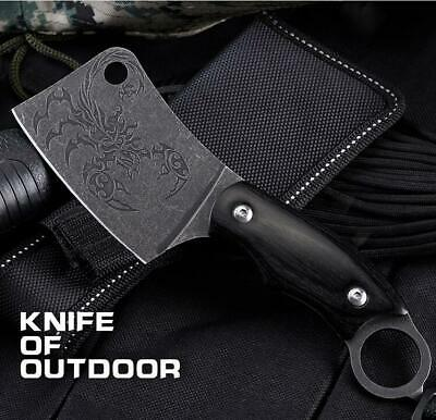 Fixed knife outdoor camping survival hardness multi-function wild knives