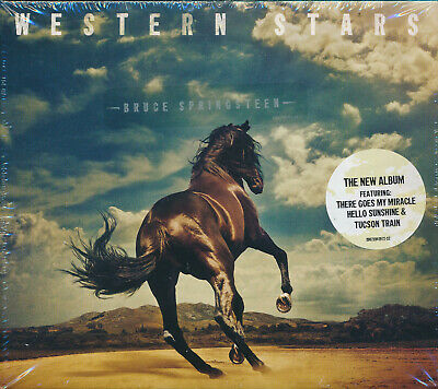 Bruce Springsteen Western Stars CD NEW