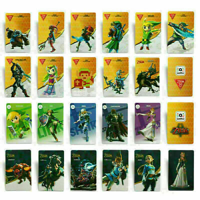 NEW 22pcs NFC PVC Tag Game Card Zelda BREATH OF THE WILD-BOTW For Switch/Wii U