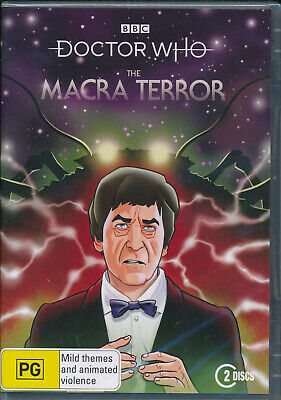 Doctor Who: The Macra Terror DVD R4 New and Sealed