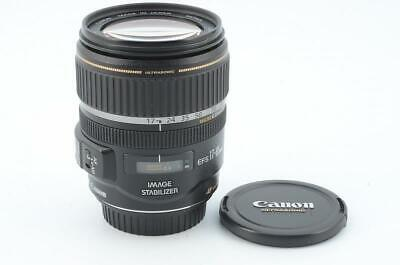 【Excellent】Canon EFS 17-85mm F4-5.6 IS USM 67mm From Japan #108723/491