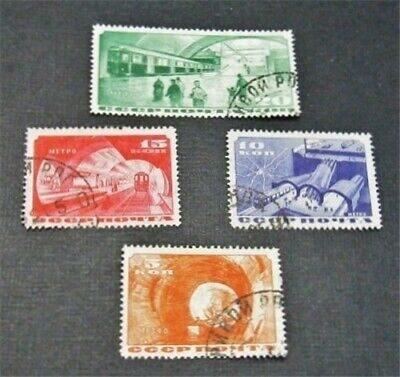 nystamps Russia Stamp # 551-554 Used $59