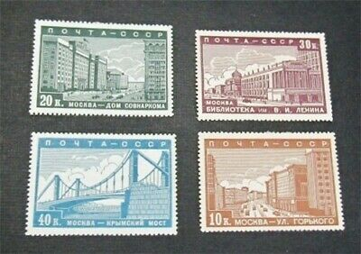 nystamps Russia Stamp # 706-709 Mint OG H/NH $30