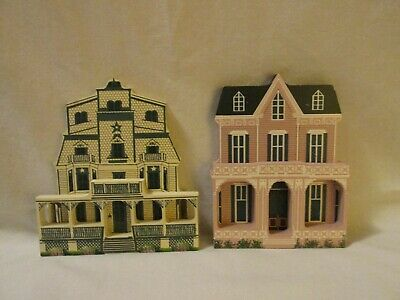 Sheilas Gothic & Morning Star Cape May NJ Wooden Cut Out Shelf Sitter Decor 1992
