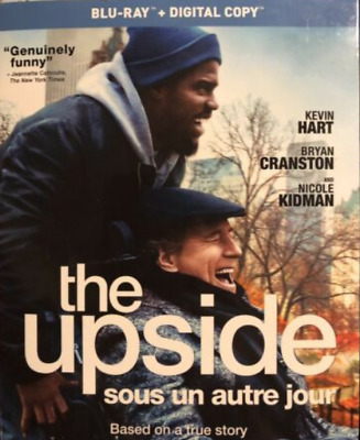 The Upside 2019 Blu-Ray w Slipcover Canada Bilingual NO DVD