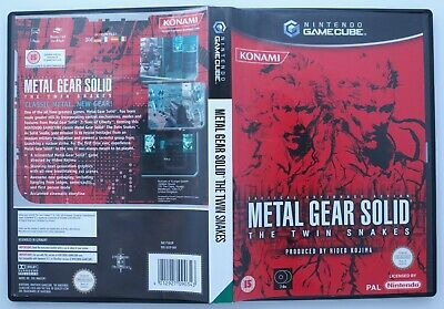 Metal Gear Solid: The Twin Snakes (GameCube Game PAL)  Aust Seller