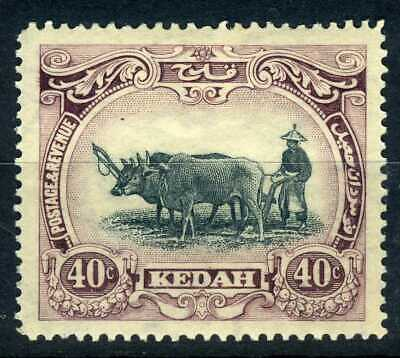 Malaya - Kedah 1932 40c Type II wmk left MM SG35c cat £130