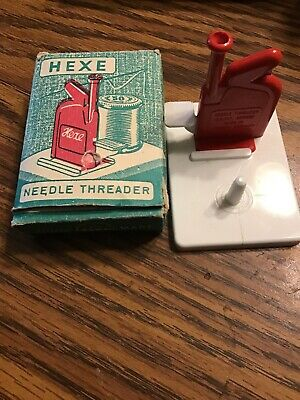 Vintage New Old Stock Hexe Needle Threader West Germany