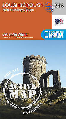 Loughborough, Melton Mowbray and Syston, Paperback by Ordnance Survey, ISBN 0...