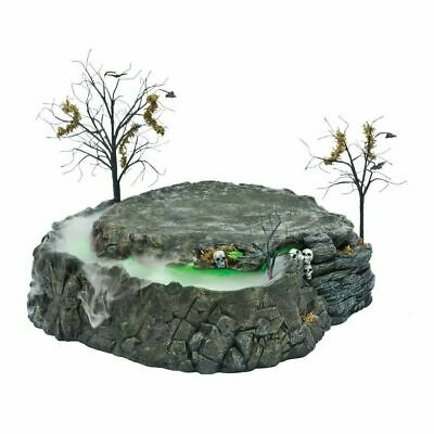 Department 56 Halloween Village FOGGY POINT PLATFORM 809379 BNIB Dept 56