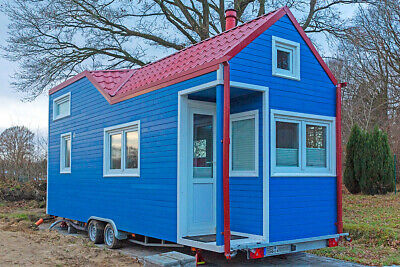 Limited Edition Rolling Tiny House, 7,8 m, Ferienhaus, hochrentabel
