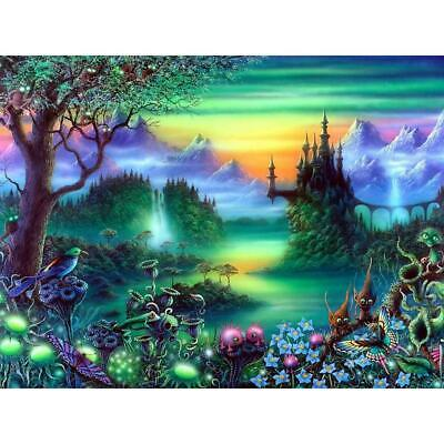 5D DIY Full Drill Square Diamond Painting Novelty Forest Cross Stitch Kits