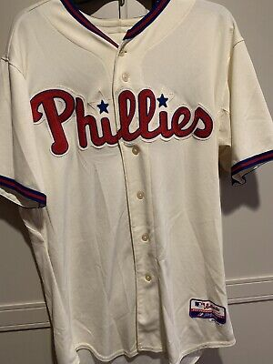pretty nice 5eff4 c6c9c Philadelphia Phillies 2012 Jackie Robinson Day Game Issued used Jersey