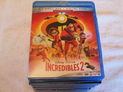 Blu Ray Movie Pixar Disney The Incredibles 2 Awesome For Family