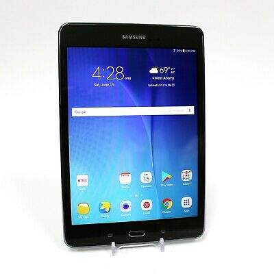 """Samsung Galaxy Tab A 8"""" 16GB SM-T350 Tablet Android 6.0.1 - Gray w/ OEM Chrger"""
