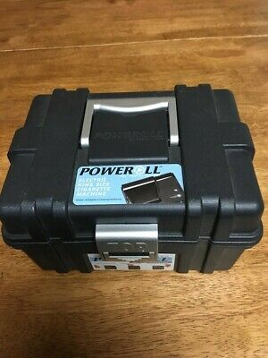 Top O Matic power roll 1 electric cigarette rolling machine King size