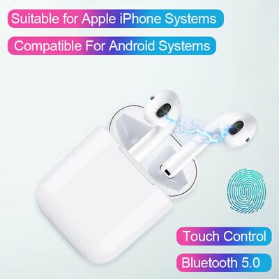 i11 TWS Touch Control Wireless Bluetooth Headphones Earbuds Earpods For iPhone