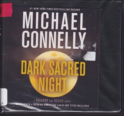DARK SACRED NIGHT by MICHAEL CONNELLY ~UNABRIDGED CD AUDIOBOOK