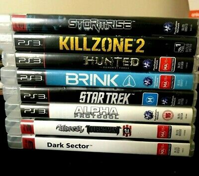Playstation 3 Games Choose Title PS3 Same Price for each only 7.99$ Free post