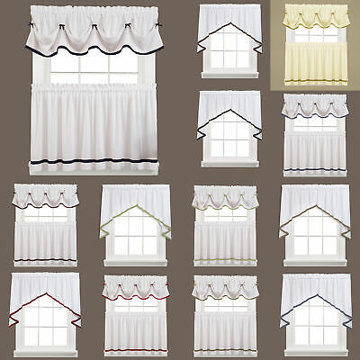 """COOPER Plaid Red Wine Brown Unlined Window Valance by Saturday Knight 58/""""Wx13/""""L"""