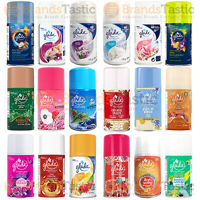 6 X Glade Automatic Spray Refills Choose A Fragrance Air Freshener 269Ml