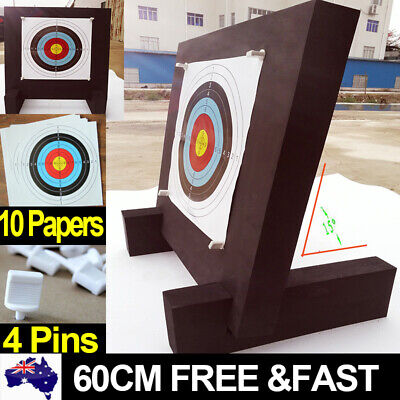 3D Archery Target High Density EVA Foam Self Healing Practice Accessory Papers