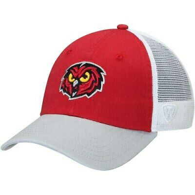 official photos a2972 daec5 Temple Owls Top of the World Backroad Trucker Adjustable Hat - Garnet