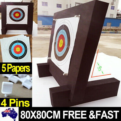 3D Archery Target High Density 80CM Foam Self Healing Practice Accessory Papers