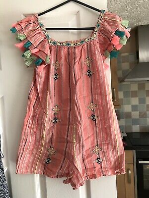 Girls Shorts Jumpsuit By Next Age 10