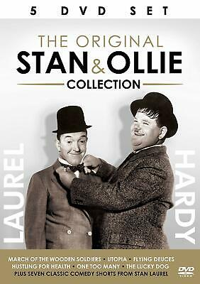 ORIGINAL STAN & OLLIE COLLECTION (Stanlio e Ollio) BOX 5 DVD in Inglese NEW .cp