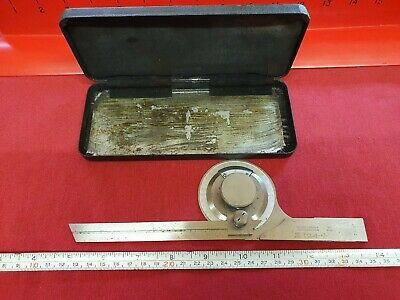 Vintage Bevel Protractor 996 Moore & Wright in Good Used Condition