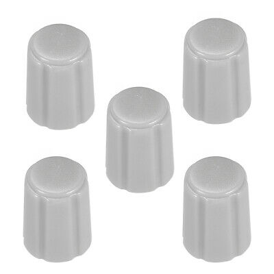 5pcs,D type 6mm Potentiometer Control Knobs For Guitar Volume Tone Knobs Grey