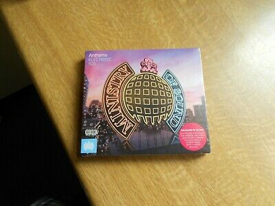 ministry of sound...anthems....electronic 90's....3 cds